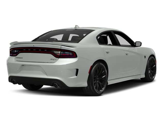 Bright White Clearcoat 2016 Dodge Charger Pictures Charger Sedan 4D SRT Hellcat V8 Supercharged photos rear view
