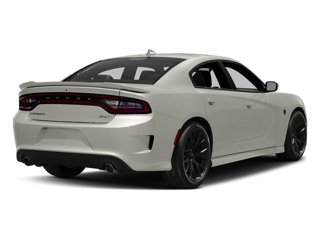 Ivory Tri-Coat Pearl 2016 Dodge Charger Pictures Charger Sedan 4D SRT Hellcat V8 Supercharged photos rear view