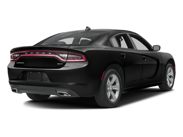 Pitch Black Clearcoat 2016 Dodge Charger Pictures Charger Sedan 4D SXT AWD V6 photos rear view