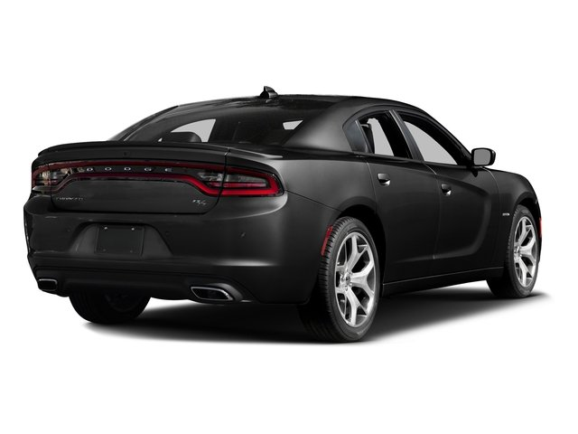 Pitch Black Clearcoat 2016 Dodge Charger Pictures Charger Sedan 4D R/T Road & Track V8 photos rear view