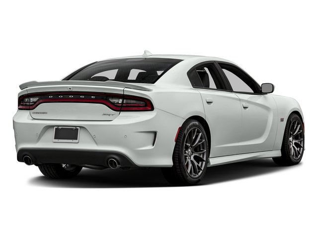 Bright White Clearcoat 2016 Dodge Charger Pictures Charger Sedan 4D SRT 392 V8 photos rear view