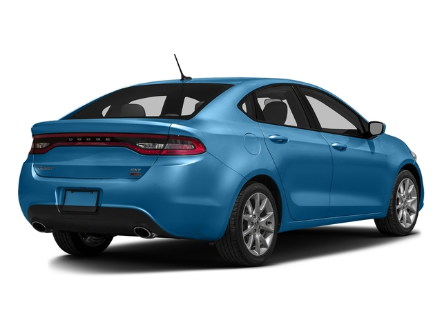 Laser Blue Pearlcoat 2016 Dodge Dart Pictures Dart Sedan 4D SE I4 photos rear view
