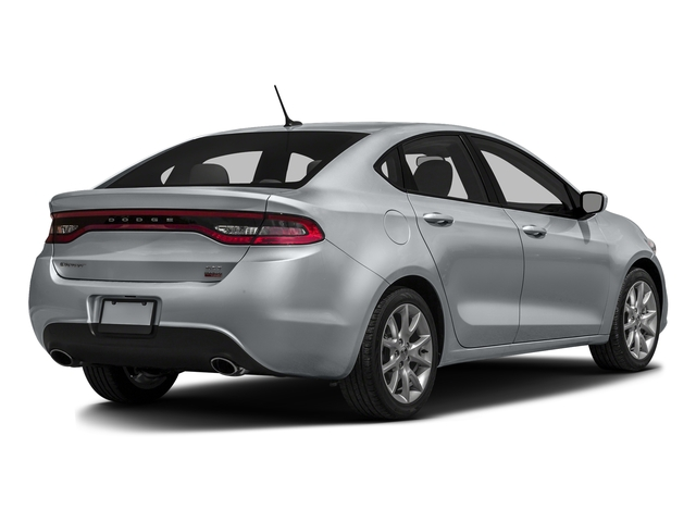 Billet Silver Metallic Clearcoat 2016 Dodge Dart Pictures Dart Sedan 4D SE I4 photos rear view