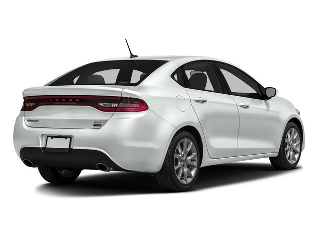 Bright White Clearcoat 2016 Dodge Dart Pictures Dart Sedan 4D SE I4 photos rear view