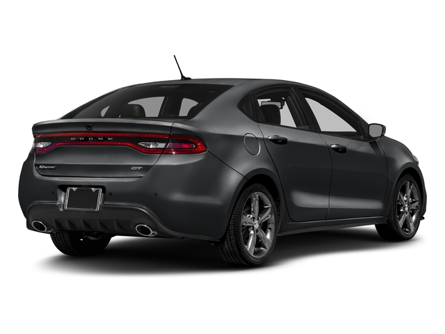 Granite Crystal Metallic Clearcoat 2016 Dodge Dart Pictures Dart Sedan 4D GT Sport I4 photos rear view