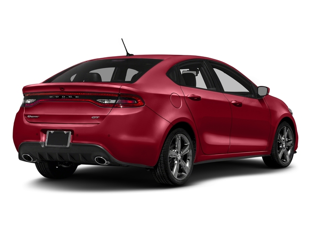 Redline 2 Coat Pearl 2016 Dodge Dart Pictures Dart Sedan 4D GT I4 photos rear view