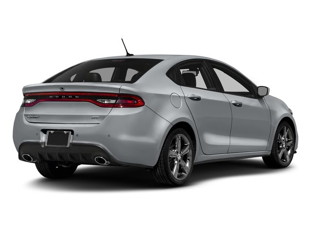 Billet Silver Metallic Clearcoat 2016 Dodge Dart Pictures Dart Sedan 4D GT Sport I4 photos rear view