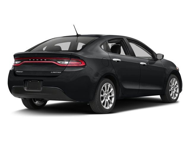 Granite Crystal Metallic Clearcoat 2016 Dodge Dart Pictures Dart Sedan 4D Limited I4 photos rear view