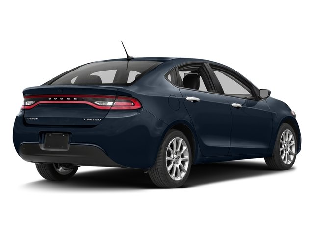 True Blue Pearlcoat 2016 Dodge Dart Pictures Dart Sedan 4D Limited I4 photos rear view