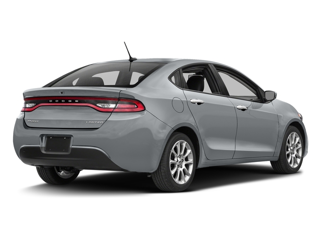 Billet Silver Metallic Clearcoat 2016 Dodge Dart Pictures Dart Sedan 4D Limited I4 photos rear view