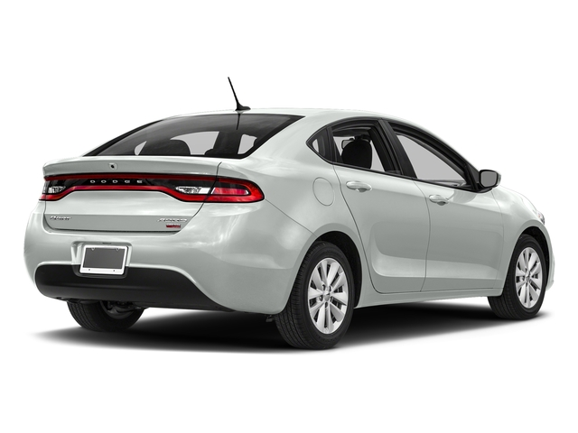 Bright White Clearcoat 2016 Dodge Dart Pictures Dart Sedan 4D Aero I4 Turbo photos rear view