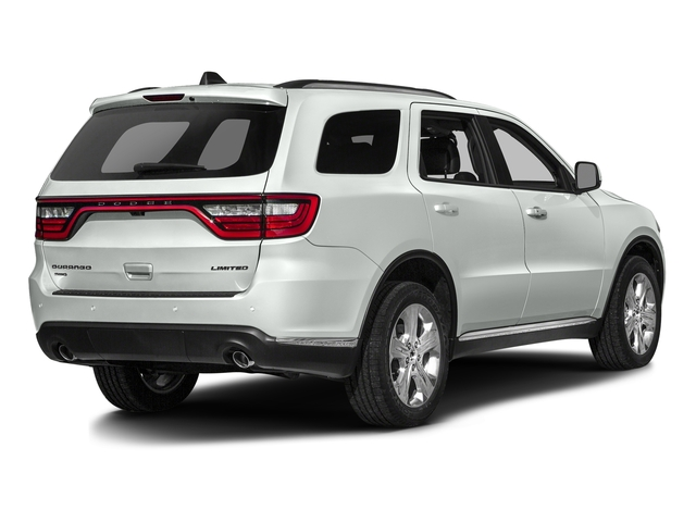 Bright White Clearcoat 2016 Dodge Durango Pictures Durango Utility 4D SXT 2WD V6 photos rear view