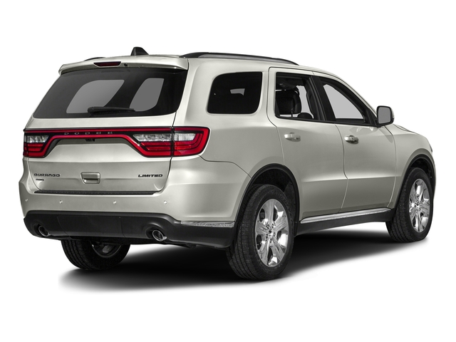 Ivory 3-Coat 2016 Dodge Durango Pictures Durango Utility 4D Limited AWD V6 photos rear view