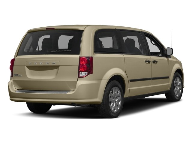 Cashmere/Sandstone Pearlcoat 2016 Dodge Grand Caravan Pictures Grand Caravan Grand Caravan SE V6 photos rear view