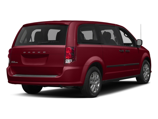 Deep Cherry Red Crystal Pearlcoat 2016 Dodge Grand Caravan Pictures Grand Caravan Grand Caravan SE V6 photos rear view