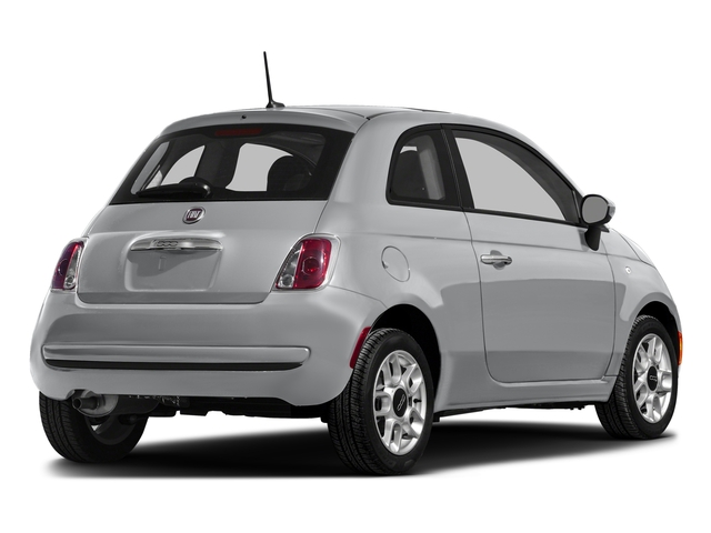 Grigio Cenre 2016 FIAT 500 Pictures 500 Hatchback 3D Lounge I4 photos rear view