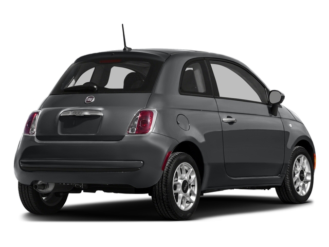 Granito Lucente (Granite Crystal) 2016 FIAT 500 Pictures 500 Hatchback 3D Lounge I4 photos rear view