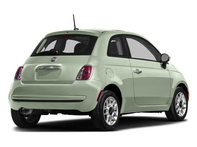 Latte Menta 2016 FIAT 500 Pictures 500 Hatchback 3D Lounge I4 photos rear view