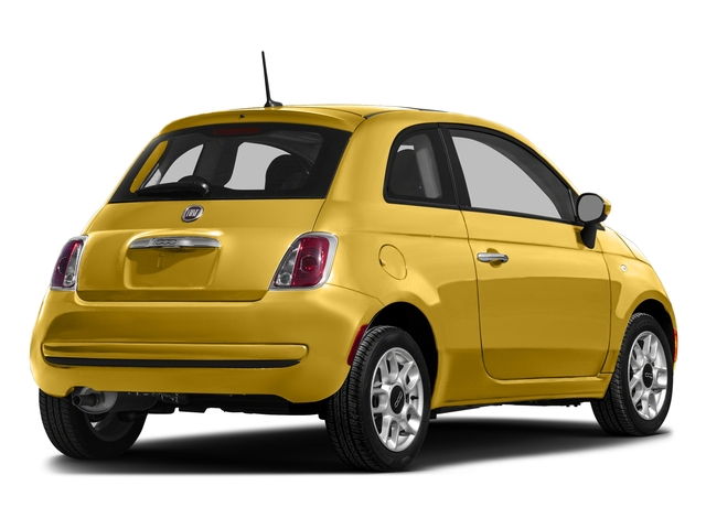 Giallo Moderna Perla (Pearl Yellow TC) 2016 FIAT 500 Pictures 500 Hatchback 3D Lounge I4 photos rear view