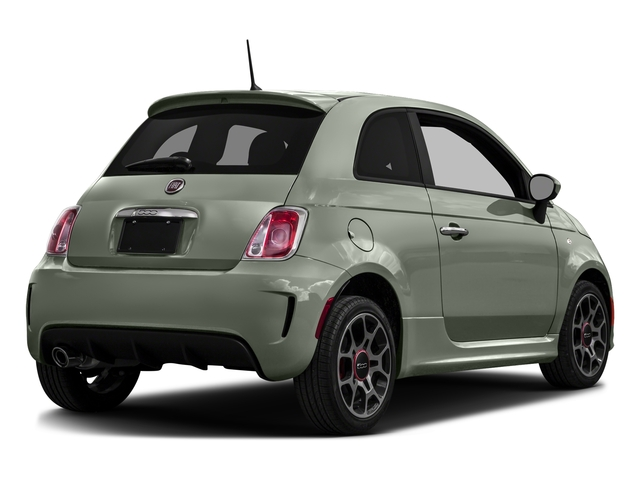Verde Chiaro (Light Green) 2016 FIAT 500 Pictures 500 Hatchback 3D I4 Turbo photos rear view