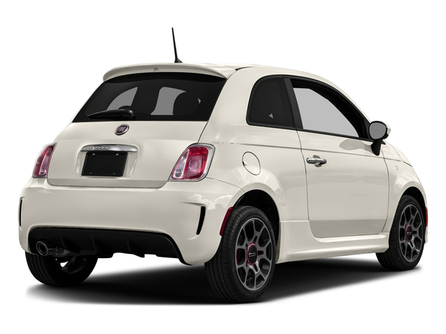 Bianco (White) 2016 FIAT 500 Pictures 500 Hatchback 3D I4 Turbo photos rear view