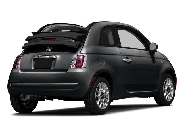 Granito Lucente (Granite Crystal) 2016 FIAT 500c Pictures 500c Convertible 2D Pop I4 photos rear view