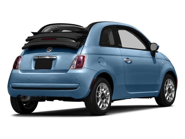 Celeste Blu (Retro Light Blue) 2016 FIAT 500c Pictures 500c Convertible 2D Lounge I4 photos rear view