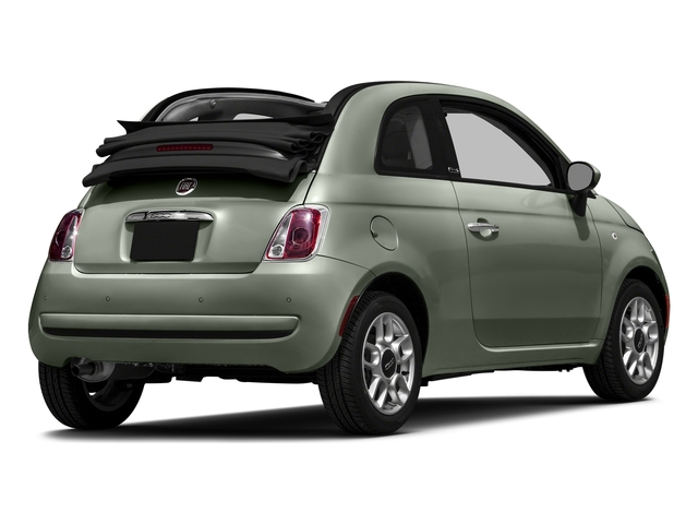 Verde Chiaro (Light Green) 2016 FIAT 500c Pictures 500c Convertible 2D Lounge I4 photos rear view