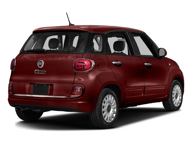 Rosso Perla (Deep Lava Red Pearl) 2016 FIAT 500L Pictures 500L Hatchback 5D L Lounge I4 Turbo photos rear view