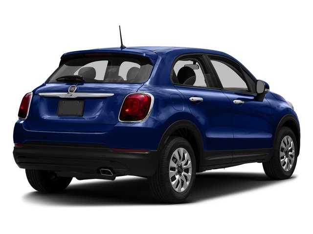 Blu Venezia (Blue Metallic) 2016 FIAT 500X Pictures 500X Utility 4D Easy 2WD I4 photos rear view
