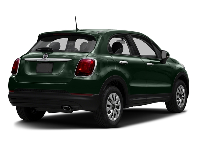 Verde Toscana (Green Metallic) 2016 FIAT 500X Pictures 500X Utility 4D Easy 2WD I4 photos rear view