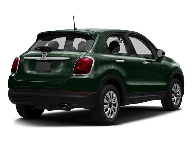 Verde Toscana (Green Metallic) 2016 FIAT 500X Pictures 500X Utility 4D Trekking Plus 2WD I4 photos rear view