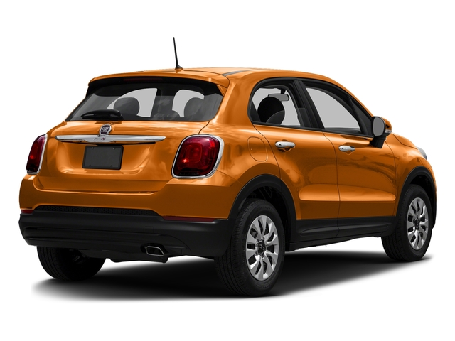 Arancio (Orange) 2016 FIAT 500X Pictures 500X Utility 4D Trekking Plus 2WD I4 photos rear view