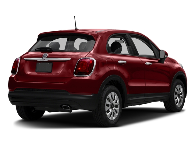Rosso Passione (Red Hypnotique Clear Coat) 2016 FIAT 500X Pictures 500X Utility 4D Easy 2WD I4 photos rear view