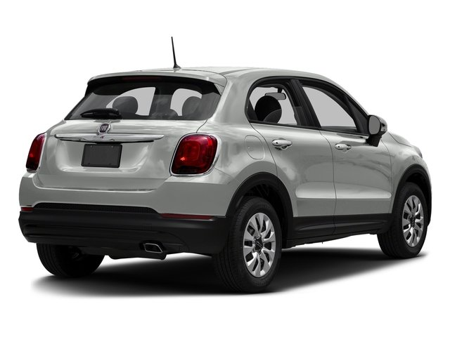 Bianco Gelato (White Clear Coat) 2016 FIAT 500X Pictures 500X Utility 4D Trekking Plus 2WD I4 photos rear view