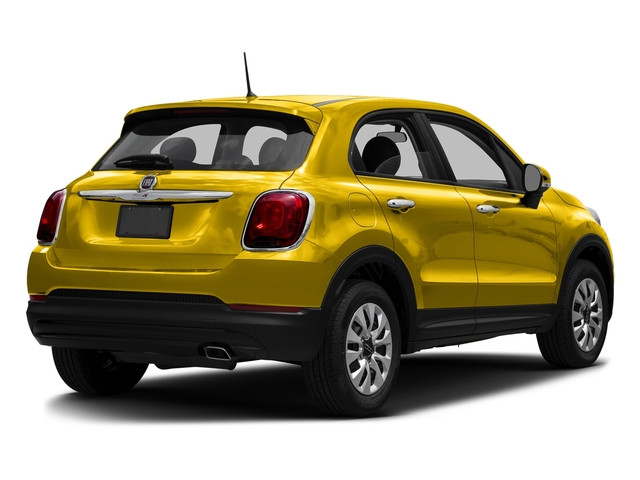 Giallo Tristrato (Tri-Coat Yellow) 2016 FIAT 500X Pictures 500X Utility 4D Trekking Plus 2WD I4 photos rear view
