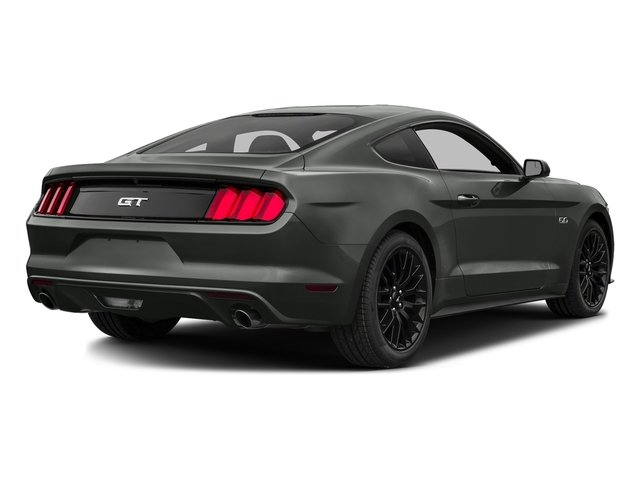 Magnetic Metallic 2016 Ford Mustang Pictures Mustang Coupe 2D GT V8 photos rear view