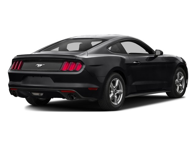 Shadow Black 2016 Ford Mustang Pictures Mustang Coupe 2D EcoBoost Premium I4 Turbo photos rear view