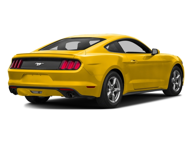 Triple Yellow Tri-Coat 2016 Ford Mustang Pictures Mustang Coupe 2D EcoBoost Premium I4 Turbo photos rear view