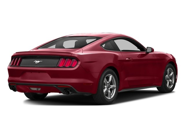 Ruby Red Metallic Tinted Clearcoat 2016 Ford Mustang Pictures Mustang Coupe 2D EcoBoost Premium I4 Turbo photos rear view