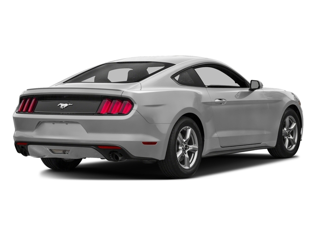 Ingot Silver Metallic 2016 Ford Mustang Pictures Mustang Coupe 2D EcoBoost Premium I4 Turbo photos rear view