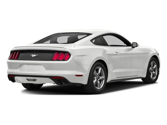 Oxford White 2016 Ford Mustang Pictures Mustang Coupe 2D EcoBoost Premium I4 Turbo photos rear view