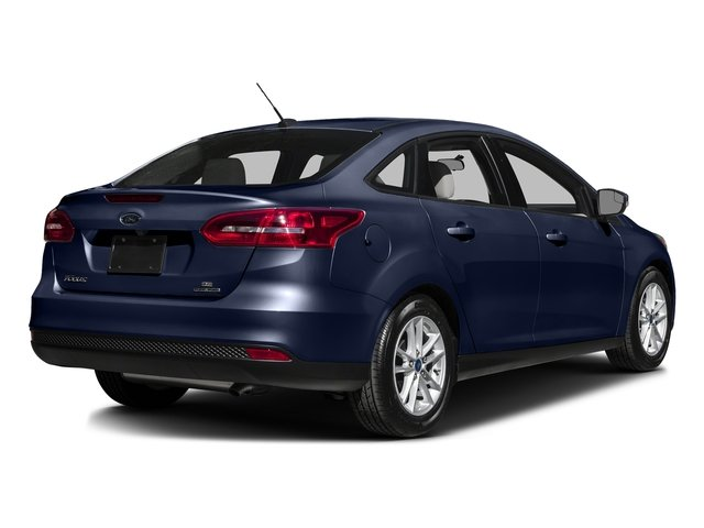 Kona Blue 2016 Ford Focus Pictures Focus Sedan 4D SE I4 photos rear view