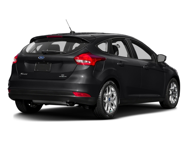 Shadow Black 2016 Ford Focus Pictures Focus Hatchback 5D SE EcoBoost I3 Turbo photos rear view