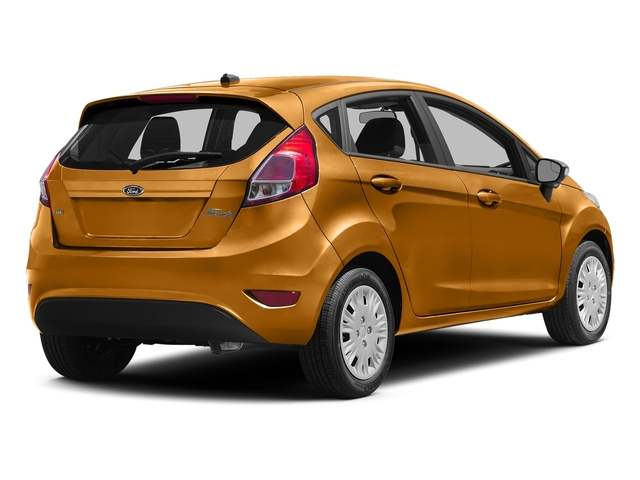 Electric Spice Metallic 2016 Ford Fiesta Pictures Fiesta Hatchback 5D SE EcoBoost I3 Turbo photos rear view