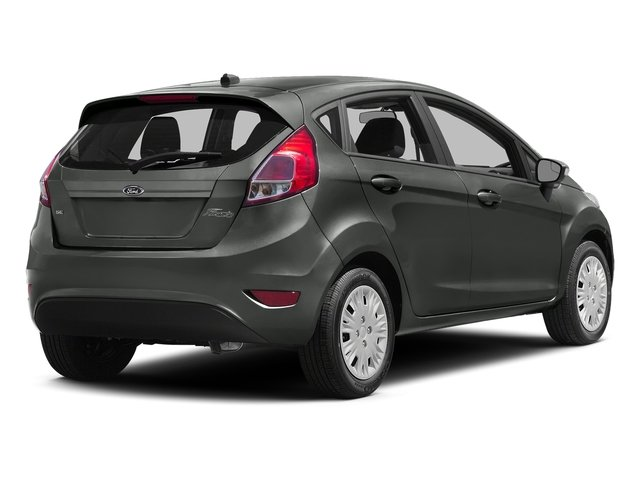 Magnetic Metallic 2016 Ford Fiesta Pictures Fiesta Hatchback 5D SE EcoBoost I3 Turbo photos rear view