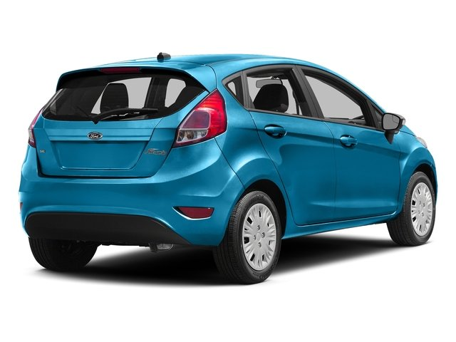 Blue Candy Metallic Tinted Clearcoat 2016 Ford Fiesta Pictures Fiesta Hatchback 5D SE EcoBoost I3 Turbo photos rear view