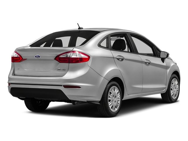 Ingot Silver Metallic 2016 Ford Fiesta Pictures Fiesta Sedan 4D SE I4 photos rear view