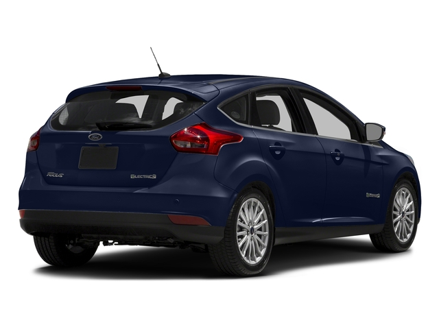 Kona Blue 2016 Ford Focus Electric Pictures Focus Electric Hatchback 5D Electric photos rear view