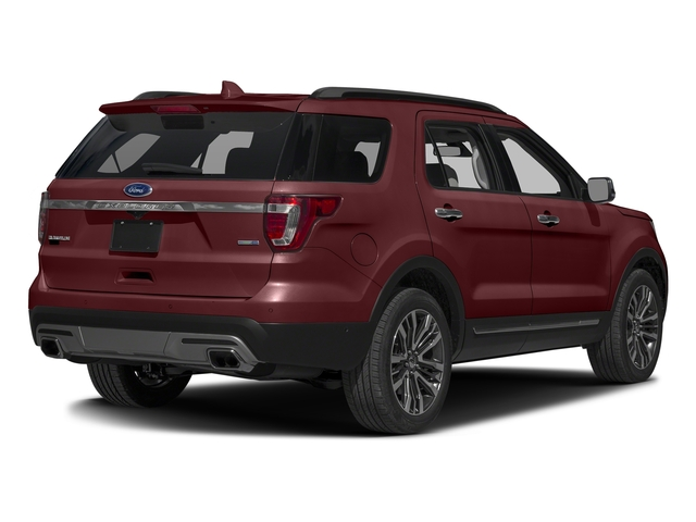 Bronze Fire Metallic Tinted Clearcoat 2016 Ford Explorer Pictures Explorer Utility 4D Platinum 4WD V6 photos rear view